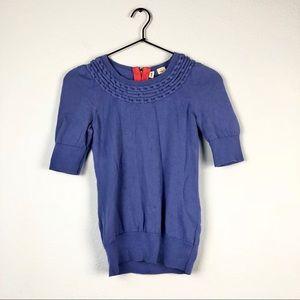 Anthropologie • Lundin Links Moth Sweater Knit Top